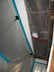 mold remediation containment barriers