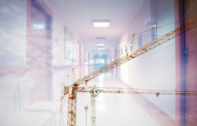 contractors provide infection control hospital construction