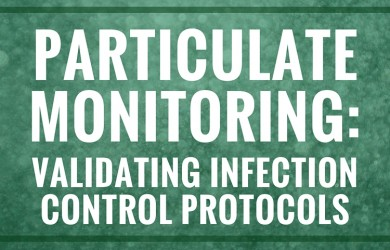 particulate monitoring infection control