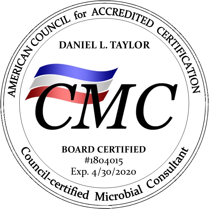 AMI Environmental Daniel L. Taylor Earns Council-Certified Microbial ...